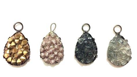 how to make druzy jewelry how to make a druzy quarts pendant diy style