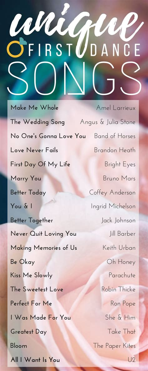 Wedding Song With by 25 Best Ideas About On