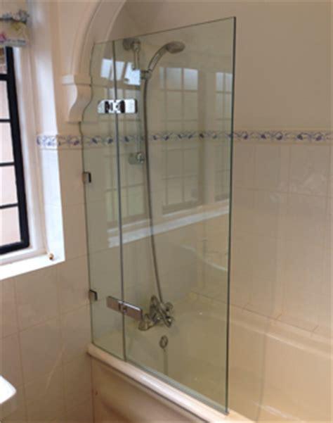 Round Bathtub Frameless Over Bath Shower Screens Shower Power
