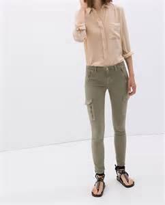 Pantalon Cargo Avec Fermetures 201 Clair Pantalons Femme