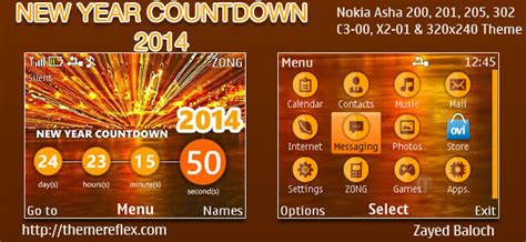 themes new 2014 special series new year countdown 2014 themes for nokia