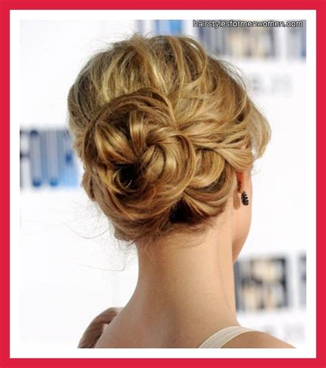 thinning bun chignon for fine hair bun hairstyles for thin hair