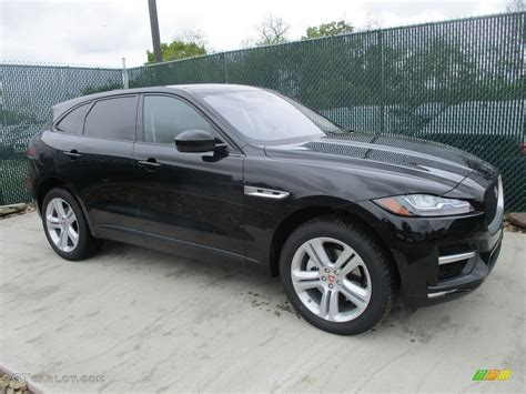 jaguar f pace black 2017 ultimate black jaguar f pace 35t awd r sport