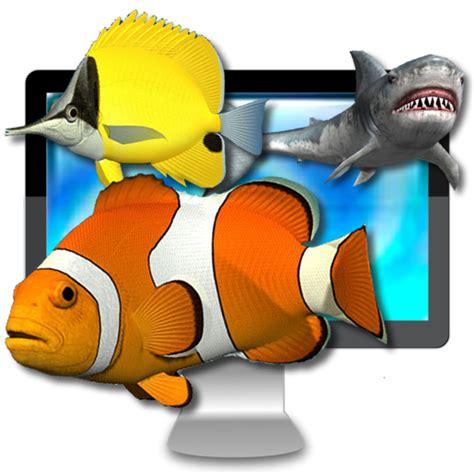 mac os appdesktop aquarium   wallpaper