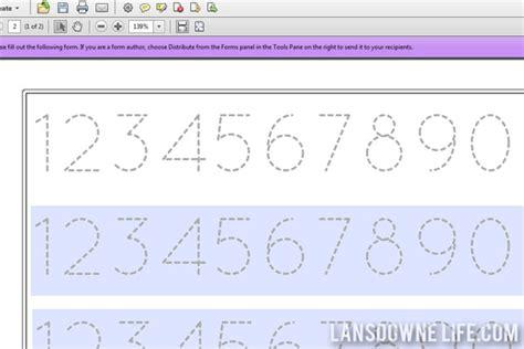 printable number line for nursery number names worksheets 187 preschool worksheets pdf free