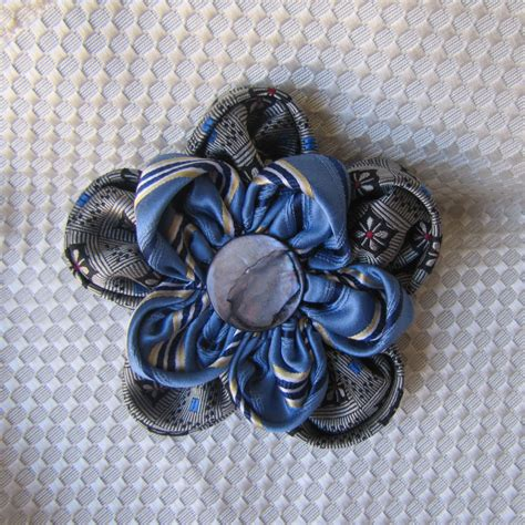 Handmade Flower Brooches - silk flower pin handmade silk flower brooch special occasion