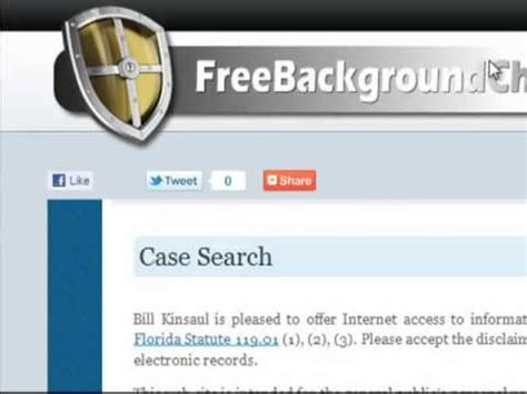Look Up Criminal Record Free How To Search Criminal Records For Free