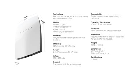 Tesla Battery Price Tesla Launches 3 000 Powerwall Battery For Your Home
