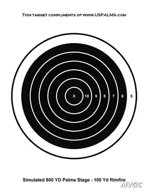 printable 8 inch targets pistol targets printable for 8 5x11 printable targets