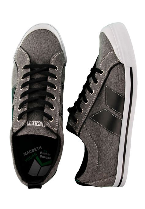Macbeth Premium macbeth eliot premium burgan grey black shoes