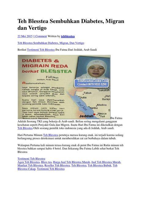 Teh Blesstea teh blesstea sembuhkan diabetes by teh hitam blesstea issuu