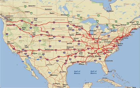 map of interstates in usa us map interstate 40 us map of the united states maps
