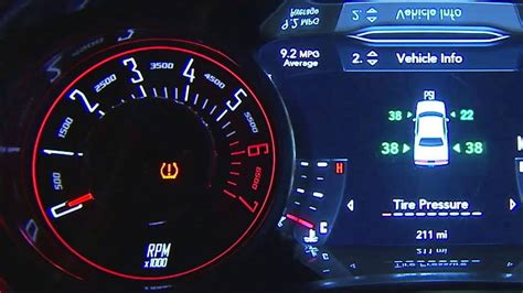 tire pressure monitoring 2006 dodge stratus instrument cluster 2015 dodge challenger tire pressure monitoring system youtube