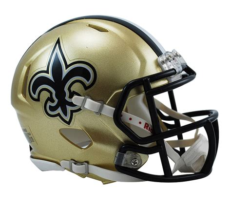 Home Interior Collectibles by New Orleans Saints Speed Mini Helmet New Orleans Saints