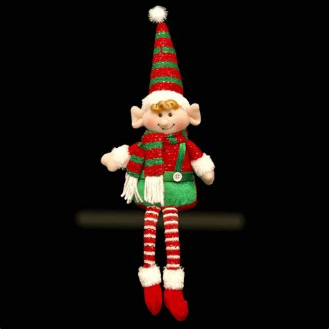 elf shelf sitter christmas decoration gift 40cm