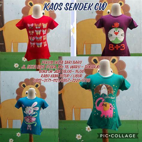 Kaos Anak Perempuan Murah by Kulakan Kaos Spandek Anak Perempuan Murah Rp 17 500