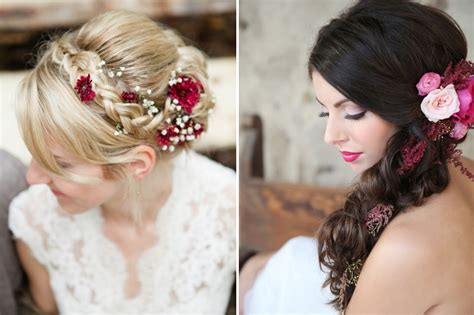 Real Wedding Hairstyles For Hair by Real Brides Wedding Hairstyles 20 Bridal Hairstyles With
