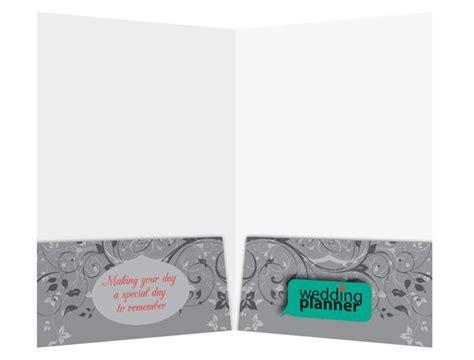 Wedding Organizer Folder by Ornate Wedding Planner Pocket Folder Design Template