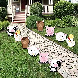 Baby Shower Yard Decorations by Farm Animals Baby Shower Decorations Theme