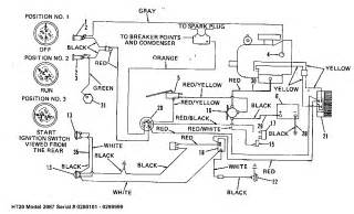 bolens lawn tractor wiring diagram tractor parts and
