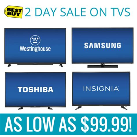 best buy sale best buy tv sale with tvs as low as 99 2 days only