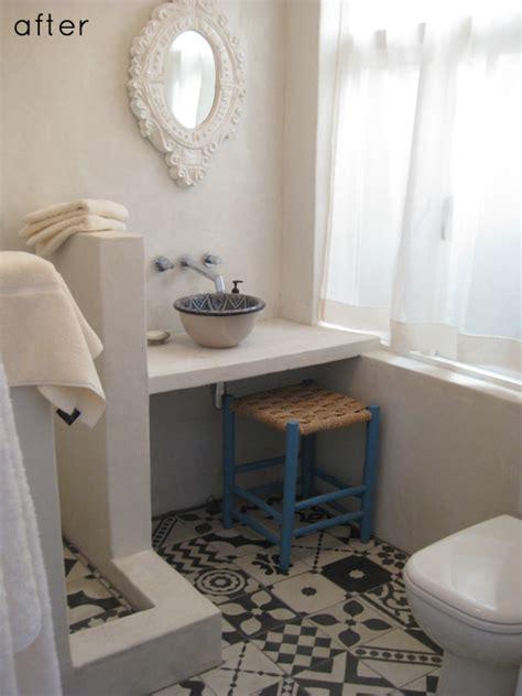 Redoing A Bathroom Floor by Before After Best Of Floors Design Sponge