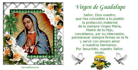 imagenes virgen de guadalupe con oracion virgen de guadalupe oracion imagui