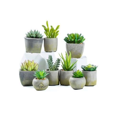 wholesale custom decorative small mini potted fake