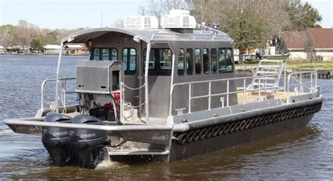 used scully aluminum boats for sale 44 work boats scully s aluminum boats inc