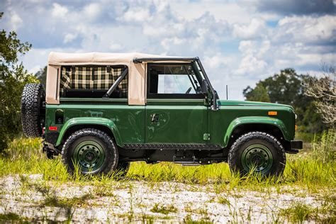 custom land rover defender project barbour by east coast defender