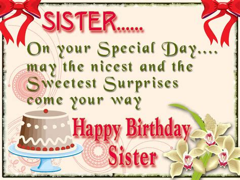 happy birthday sister greeting cards hd wishes wallpapers  full hd wall pictures
