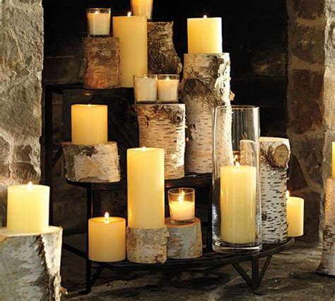 fireplace candles creative ways to decorate your fireplace in the off season