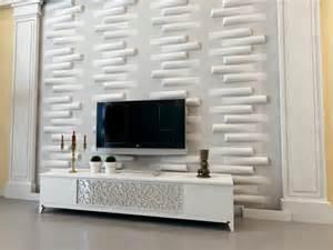 wohnzimmer einrichten 3d tv wandpaneel 35 ultra moderne vorschl 228 ge archzine net
