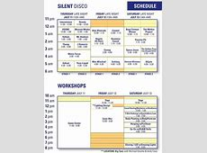 Camp Bisco Daily Schedule Released | Your EDM Mac S Meadow