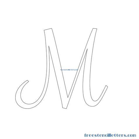 stencil lettere letter stencils to print m www pixshark images
