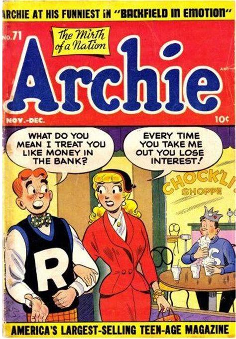 archie vol 1 archie vol 1 71 archie comics wiki