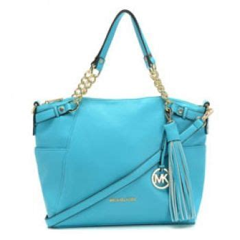 Tas Michael Kors Chelsea michael kors chelsea tassel large blue tote chicstyle org