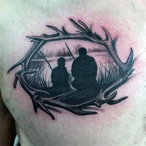 silhouette tattoos for men 100 silhouette designs for shadowy illustration