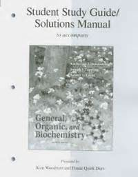 study guide with student solutions manual for mcmurry s organic chemistry 9th solved the linear structure of d glucose is shown in