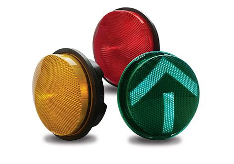 led traffic signal lights gtx led signals 120v current by ge