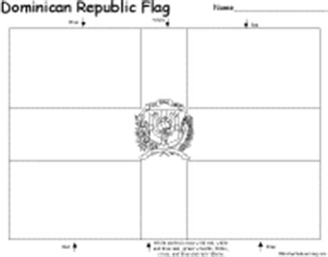 dominican republic flag coloring page what s new at enchantedlearning com mid december 2004