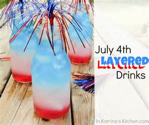 july 4th layered drinks tutorial www inkatrinaskitchen com
