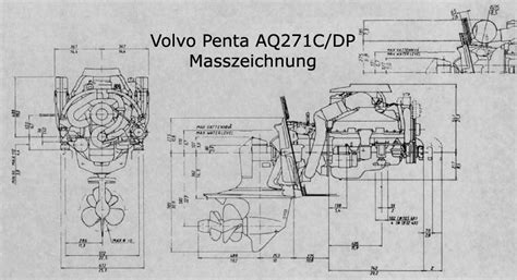 aq271c volvo penta volvo penta aq271 c benzinmotor schmidt seifert