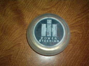 Used Farm Tractors For Sale Ihc Center Steering Wheel Cap