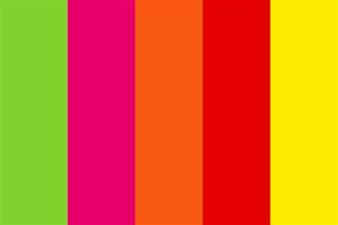 bright color combinations 2016 wow bright beach color palette