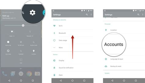 how to add email to android how to add a second account to your android android central