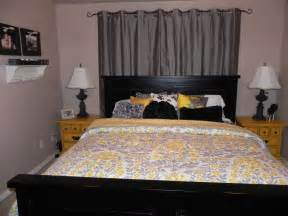 Yellow and gray bedroom ideas home improvement home decor