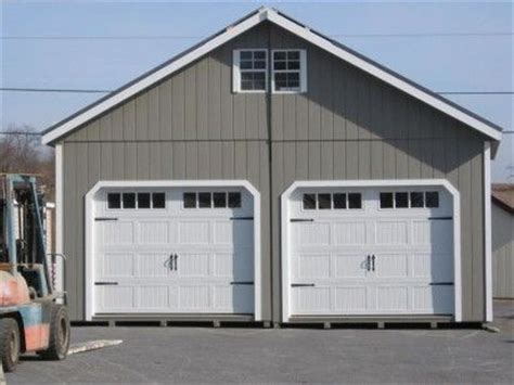 what size is a standard garage door