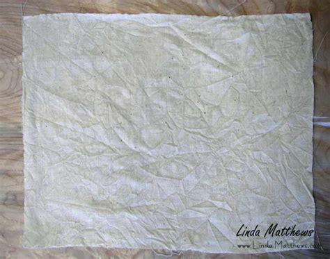 Fabric Paper - how to make textural quot fabric paper quot matthews