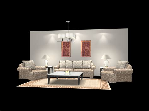 couches for free furniture sas 001 3d model download free 3d models download